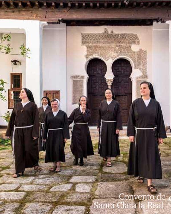 Ingreso de monjas Clarisas Franciscanas